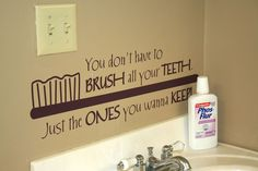Add this fun Uppercase Living design to your dentist office!