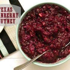 Texas Cranberry Chutney by EatYourHeartOut