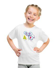 Mouse T-shirt with autograph