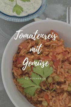 Tomatenreis wie das Original beim Griechen? Finde heraus ob das Rezept wirklich so gut ist!