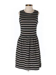 jcrew factory striped knit dress - $14