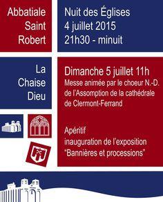 Nuit des églises - samedi 4 juillet 2015 - La Chaise-Dieu