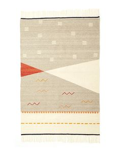 Norma Rug in Cochineal