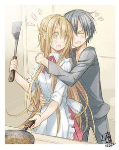 Resultado de imagen para animes cocinando