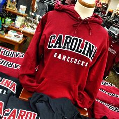 The #UofSC Russell House bookstore is full of #Gamecock gear to help show your Carolina pride. Be sure to vote for the garnet & black in the Celebrate College Colors Day Spirit Cup.