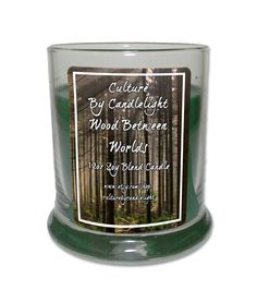 Wood Between Worlds 12oz Soy Candle Woods by CultureByCandlelight
