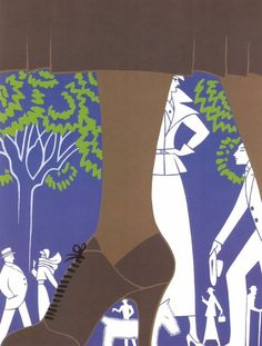 Diptyque's Crossing: Erté with love...