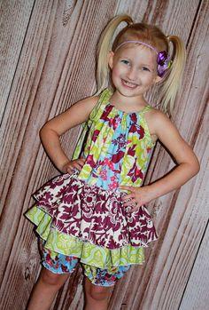 Skirted Pillowcase Romper Tutorial ~ Create Kids Couture
