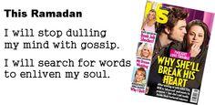 This Ramadan, gossip