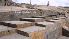 The Mysterious Angled Step carvings of the Inca regions. (South America) What… Ancient Mysteries, Ancient Ruins, Ancient Artifacts, Ancient Egypt, Ancient History, Statue Art, Alien Theories, Mystery Of History, Ancient Architecture