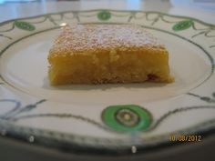 Awesome recipies to try.  It's all about family and food: lemon Slice