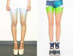 URB's melting tights are an interesting fashion trend