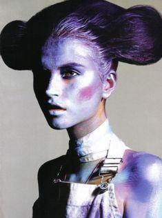 Mario Sorrenti - Photographer Andrew Richardson - Fashion Editor/Stylist Anabela Belikova - Model