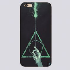 HARRY POTTER DEATHLY Design black skin phone cover cases for iphone 4 5 5c 5s 6 6s 6plus Hard Shell