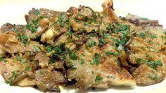 setas al ajillo (mushroom in garlic sauce)