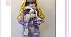 Amigrumi Tarifleri Crochet Dolls, Hanukkah, Nova, Board, Diy, Decor, Dots, Patrones, Decoration