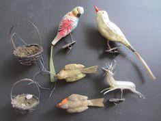 alter Weihnachtsschmuck Vögel Vogel Hirsch mundgeblasen Glas Massefigur | Sammeln & Seltenes, Saisonales & Feste, Weihnachten & Neujahr | eBay!