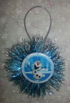 Olaf CHRISTMAS ORNAMENT snowman  1pc.  Frozen  by everydayabow, $5.00
