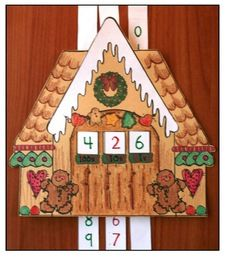 Come Do Some Gingerbread Activities With Me DJ Inkers is one of my favorite clip artists. Her gingerbread house is so cute, that I went on. Gingerbread Games, Dj Inkers, Place Value Activities, Place Values, Activity Games, December, My Favorite Things, Holiday Decor, School