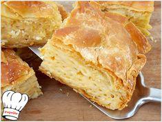 Πεντανοστιμη,μυρωδατη και αφρατη μακαρονοπιτα με γιαουρτακι και 3 τυρια,απλη,ευκολη και γρηγορη για το καθημερινο,γιορτινο τραπεζι και μπουφε σας!!! <strong>Απολαυστε την!!!</strong>