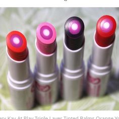 Mary Kay Tinted Lip Balm-3 available ALL 3 for ONE PRICE!!!!!  Will also sell separately-YOUR choice. BNWOB-see third pic Mary Kay Makeup Lip Balm & Gloss
