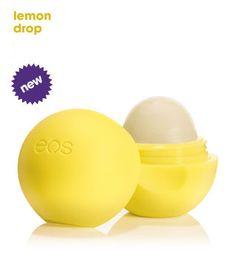 EOS lip balm with SPF 15