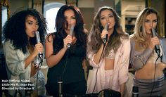 Little Mix debut sexy music video for break-up song Hair Little Mix Hair, Little Mix Jesy, Jesy Nelson, New Music, Perrie Edwards, Hair Videos, Music Videos, Sean Paul, Display