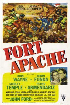Fort Apache. John #wayne Henry #fonda