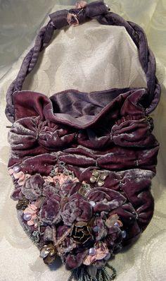 OMG....I want this bag!!!! I love this bag!!!! I need this bag!!!!   English Velvet bag