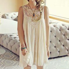 Lace Gypsy Dress, Women's Bohemian Dresses from Spool 72. | Spool No.72
