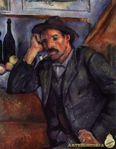 CEZANNE. Fumador de pipa. 1890-92.