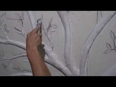 ÁRBOL GENEALÓGICO - YouTube Driftwood Planters, Creative Food Art, Plaster Art, Fairy Tree, Decoupage, Youtube, Cement, Barbie, Vintage