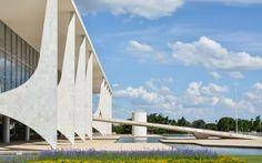 Oscar Niemeyer, Gonzalo Viramonte · Palácio do Planalto · Divisare