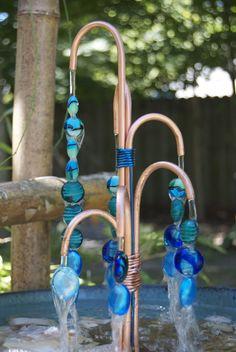 Copper Beaded Fountain