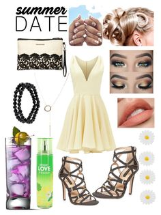 """""""Little yellow number"""" by snowflakeunique ❤ liked on Polyvore featuring Allison Parris, Dorothy Perkins, Humble Chic, 1928, Monsoon, summerdate and rooftopbar"""