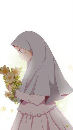 18 New ideas for wall paper cartoon anime wallpapers Art Anime Fille, Anime Art Girl, Cartoon Kunst, Cartoon Art, Cover Wattpad, Tmblr Girl, Hijab Drawing, Islamic Cartoon, Hijab Cartoon