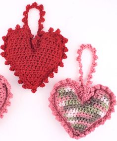 Best Free Crochet » Free Sweet Heart Sachet Crochet Pattern from RedHeart.com