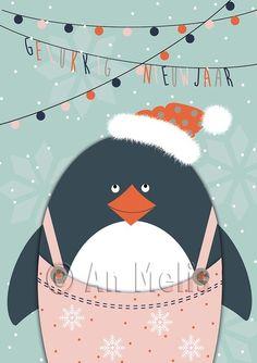 Nieuwjaarsbrief An Melis Christmas Books, Kids Christmas, Ikko, Painting Inspiration, Christmas Decorations, Artsy, Symbols, Fancy, Watercolor