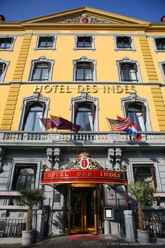Hotel Des Indes in The Hague, Netherlands