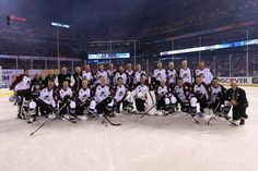 2016 Colorado Avalanche Alumni. They defeated the Detroit Red Wings Alumni 5-2.