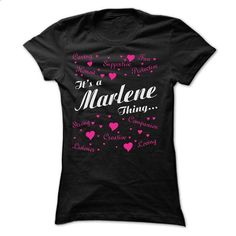 MARLENE THING AWESOME SHIRT - #hoodie design #poncho sweater. PURCHASE NOW => https://www.sunfrog.com/Names/MARLENE-THING-AWESOME-SHIRT-Ladies.html?68278