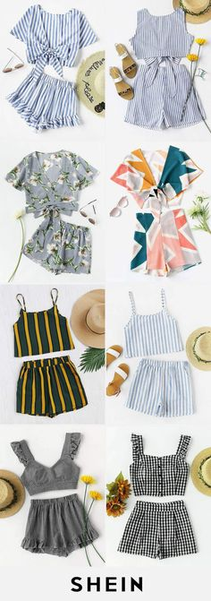 Top and shorts sets