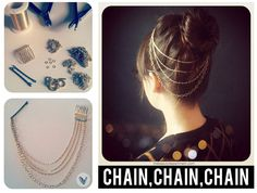 *TIPS & TRICKS* DIY Hair necklace(source: thebeautydepartment.com)  RockUrLifestyle ~ ONLine Shop