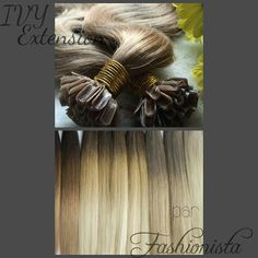 www.distributionsfashionista.com Ivy, Extensions, Hedera Helix, Sew In Hairstyles, Hair Extensions, Ivy Plants, Sew Ins