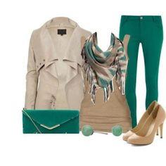 Greens! #womens #fashion