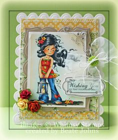 Hopeful [SZWS126] - $8.00 : Whimsy Stamps