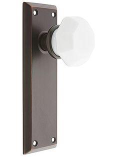 Beau $94 Interior Door Knob Sets. Classic Rosette Set With Speckled Brown  Porcelain Door Knobs. | Schapiros Knobs And Kickplates | Pinterest |  Interior Door ...