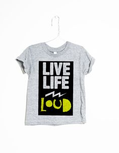 Live Life Loud - Slyfox Threads