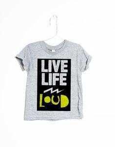 Live Life Loud - Slyfox Threads