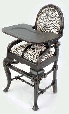 You and your baby can drool over this:  Kandeeland: The GLAM-est High Chair You've Ever SEEN!
